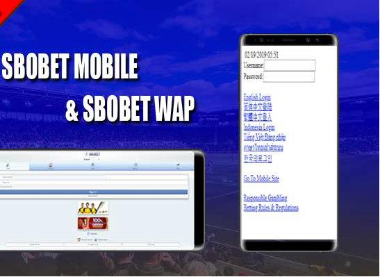 Sbobet WAP dan Mobile