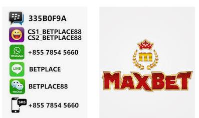 daftar maxbet melalui customer service